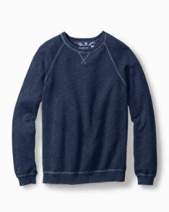 Big & Tall Saltwater Tide Crewneck Sweater