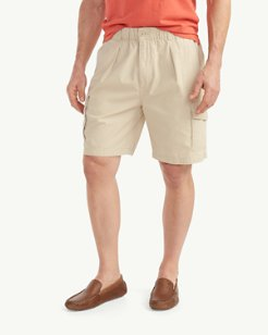Big & Tall Bahama Survivor Elastic-Waist Cargo Shorts