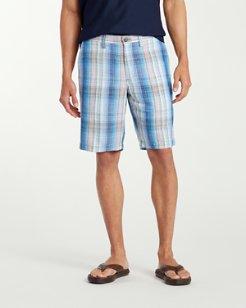 Big & Tall Corfu Plaid Shorts