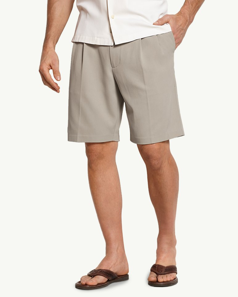 Big & Tall New St. Thomas Double-Pleat Shorts