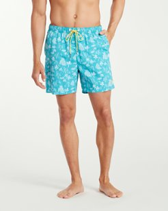 Big & Tall Naples Santorini Sails Swim Trunks