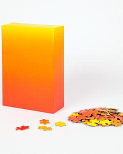 Red/Yellow Gradient Jigsaw Puzzle
