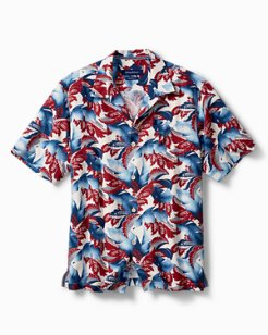 Original Fit Star-Spangled Fronds Camp Shirt