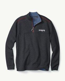 NFL Flip Side Pro Reversible Half-Zip Sweatshirt