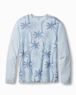 Palmas Palooza Long-Sleeve Crewneck Shirt
