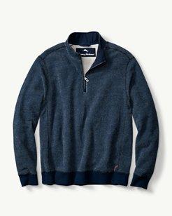 Chenille Armstrong Half-Zip Sweatshirt