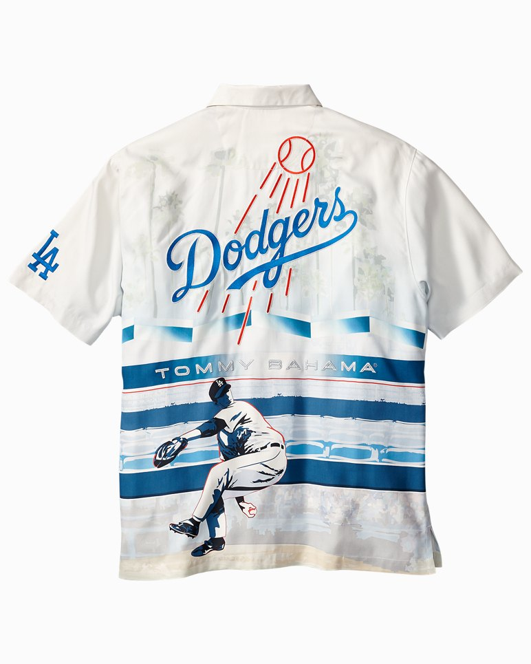 Mlb 174 Los Angeles Dodgers Collector S Series Camp Shirt