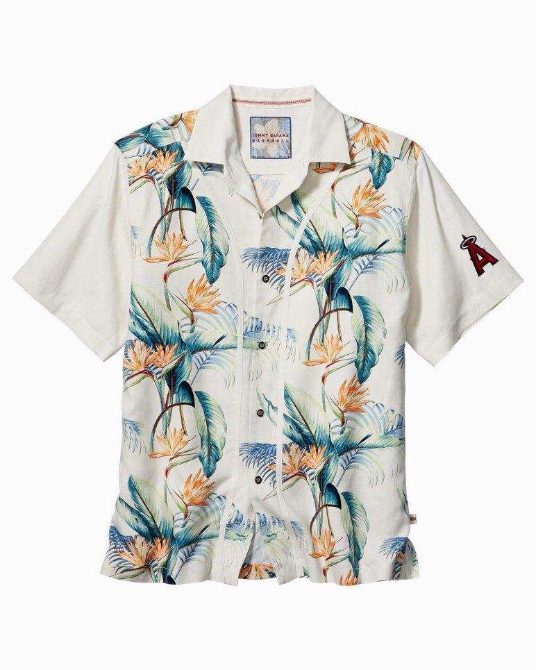 Mlb cool palm collected camp shirt for Tommy bahama florida shirt