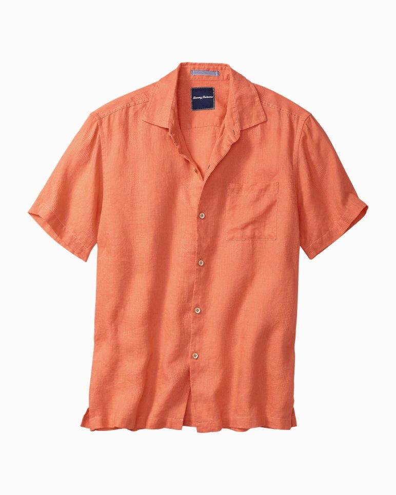 Anchors Aweigh Linen Camp Shirt