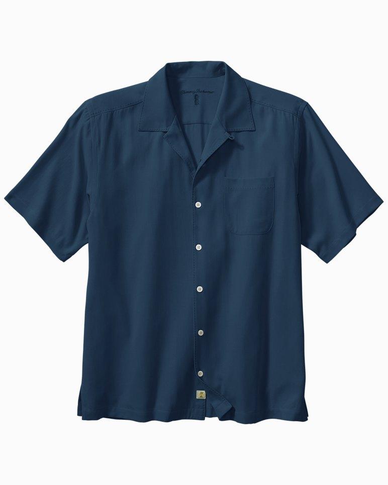 Catalina twill camp shirt for Tommy bahama catalina twill silk camp shirt