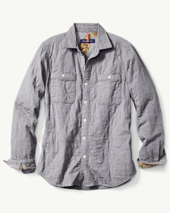 Quiltessential Chambray Shirt Jacket