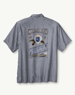 MLB® Royals Ocean Oxford Camp Shirt