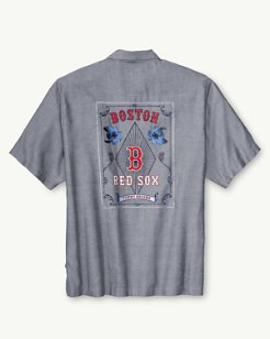 MLB® Red Sox Ocean Oxford Camp Shirt