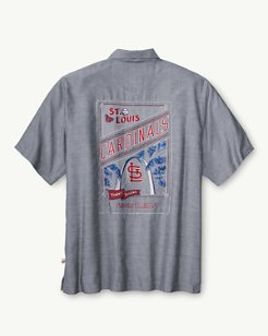 MLB® Cardinals Ocean Oxford Camp Shirt
