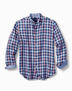 Thira Check Linen Shirt