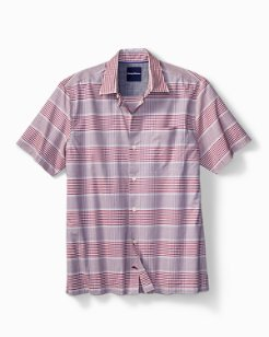Glenny Plaid Camp Shirt