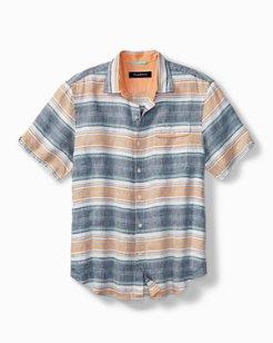 Cubana Bay Linen Camp Shirt
