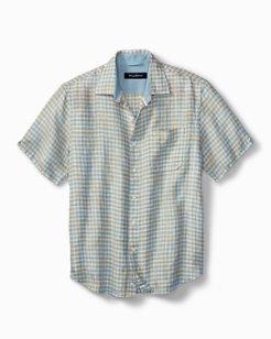 Check Stamos Linen Camp Shirt