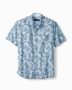 Laurel Floral Camp Shirt