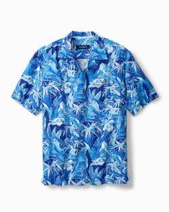 Oasis Blooms IslandZone® Camp Shirt