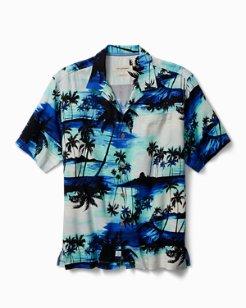 Sunset Island Camp Shirt