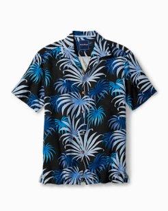 Firework Palms Camp Shirt