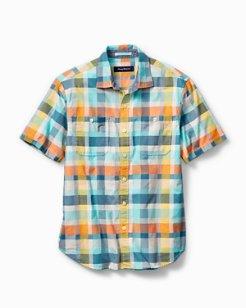 Check Me Out Plaid Camp Shirt