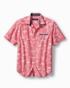 Marlin Party Camp Shirt