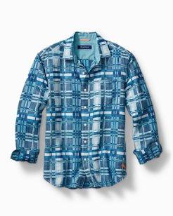 Plaid Skills Linen-Blend Shirt