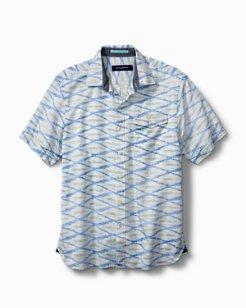Island Ikat Camp Shirt