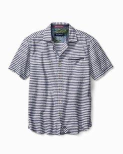 Seaway Stripe Camp Shirt