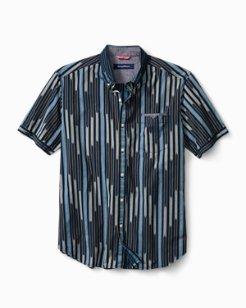 Berber Stripe Camp Shirt