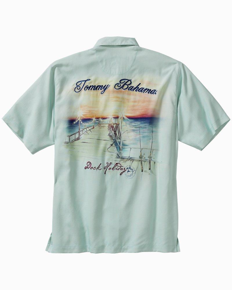 Tommy bahama dock holiday camp shirt customer reviews for Tommy bahama christmas shirt 2014