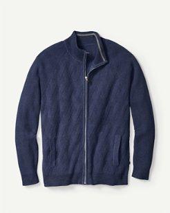 Ocean Crest Full-Zip Sweater