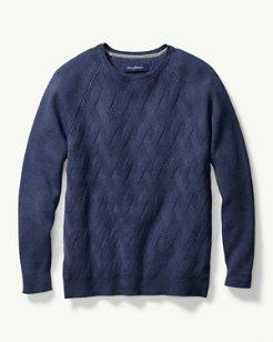 Ocean Crest Crewneck Sweater