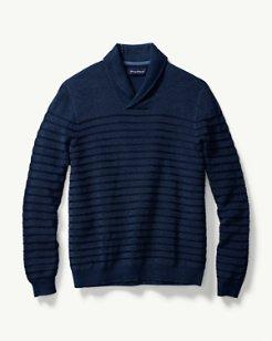 Chief Island Officer Shawl Neck Sweater