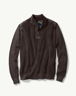 Coastal Shores Half-Zip Sweater