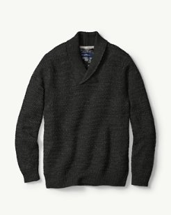 Cape Escape Shawl Collar Sweater