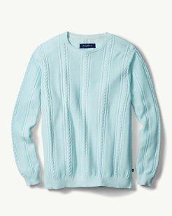 Marled Sands Crewneck Sweater