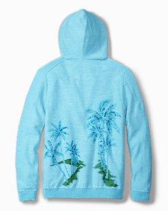 Samaria Palms Printed Hoodie