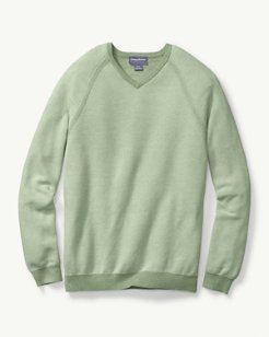 Make Mine A Double Reversible V-Neck Sweater