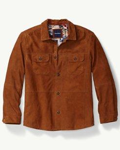 Santiago Suede Shirt Jacket