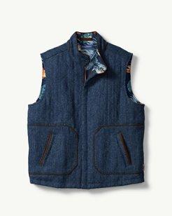 Harris Tweed Reversible Vest