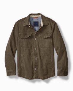 Sea Glass Shirt Jacket