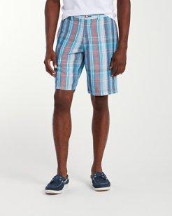 Peleio Plaid 10-Inch Shorts