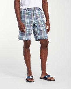 Maseo Madras 10-Inch Shorts
