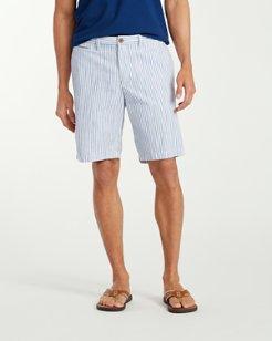 Athens Stripe 9.5-Inch Shorts