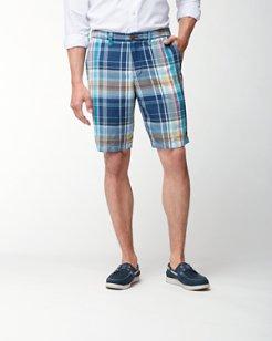 Madrasam Avenue 10-Inch Linen-Blend Shorts