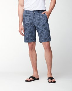 Palmas Palooza 10-Inch Linen-Blend Shorts