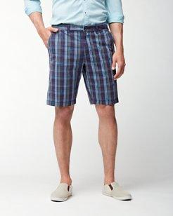 Tan Tan Tartan 10-Inch Shorts